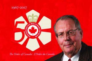 Lassonde Institute of Mining Board Advisor, Bert Wasmund named a Member of the Order of Canada